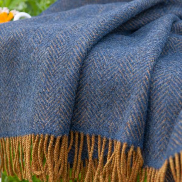 Klassische Wolldecke | John Hanly