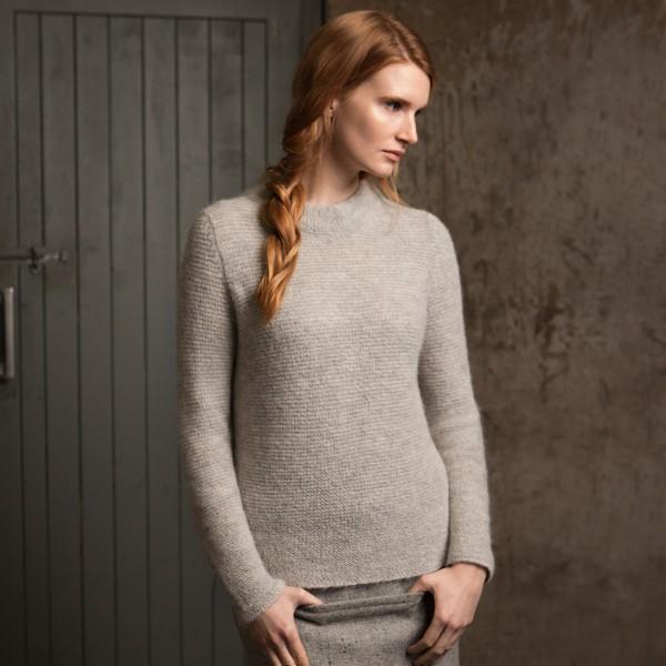 Kuscheliger Pullover aus Öko-Baby-Alpaka