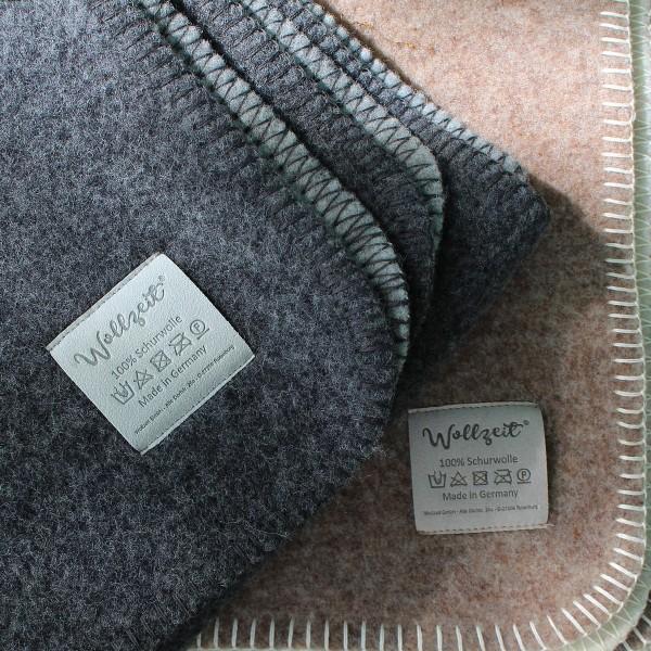 Doubleface-Decke von Wollzeit