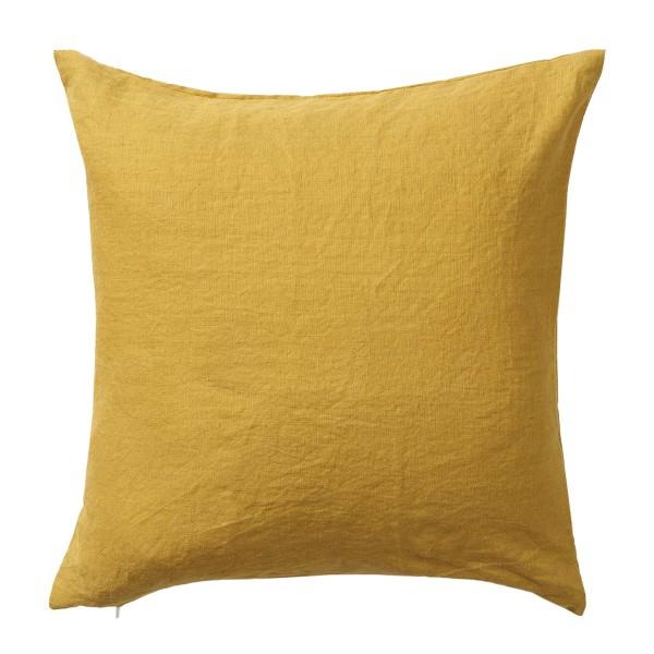 Gelbes Wohnkissen